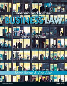 Keenan and Riches' Business Law Premium Pack av Sarah Riches og Vida Allen (Blandet mediaprodukt)