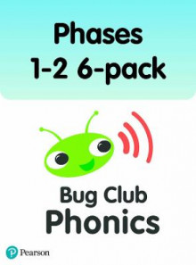 Phonics Bug Phase 2 6-Pack av Jeanne Willis, Nicola Sandford, Emma Lynch og Joe Elliot (Heftet)