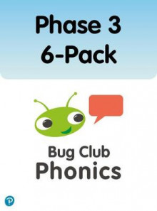 Phonics Bug Phase 3 6-Pack av Emma Lynch, Alison Hawes, Nicola Sandford, Jill Atkins, Jan Burchett, Sara Vogler, Paul Shipton, Caroline Harris, Joe Elliot og Jeanne Willis (Heftet)