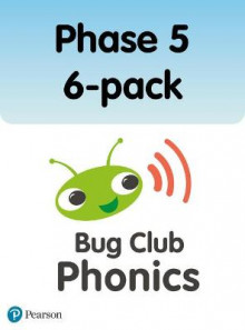 Phonics Bug Phase 5 6-pack av Paul Shipton, Emma Lynch, Jeanne Willis, Jill Atkins, Alison Hawes, Vicky Shipton og Joe Elliot (Heftet)