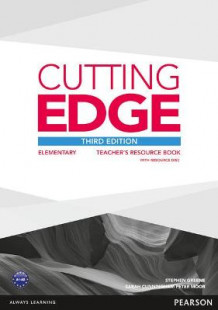 Cutting Edge 3rd Edition Elementary Teacher's Book with Teacher's Resources Disk Pack av Stephen Greene, Sarah Cunningham og Peter Moor (Blandet mediaprodukt)