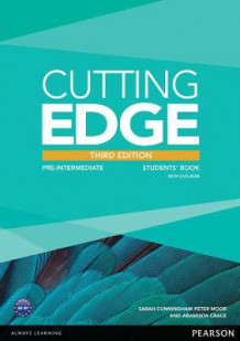 Cutting Edge: Pre-Intermediate Students' Book and DVD Pack av Araminta Crace, Peter Moor og Sarah Cunningham (Blandet mediaprodukt)