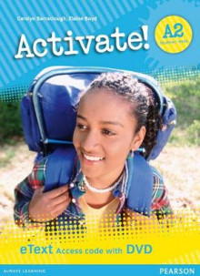 Activate! A2 Students' Book eText Access Card with DVD av Carolyn Barraclough og Elaine Boyd (Pakke)