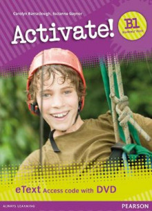 Activate! B1 Students' Book eText Access Card with DVD av Carolyn Barraclough og Suzanne Gaynor (Pakke)