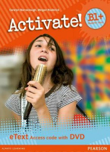 Activate! B1+ Students' Book eText Access Card with DVD av Carolyn Barraclough og Megan Roderick (Pakke)