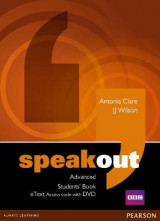 Omslag - Speakout Advanced Students' Book eText Access Card with DVD
