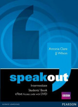 Omslag - Speakout Intermediate Students' Book eText Access Card with DVD