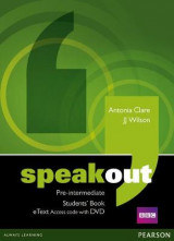 Omslag - Speakout Pre-Intermediate Students' Book eText Access Card with DVD