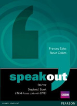 Omslag - Speakout Starter Students' Book eText Access Card with DVD