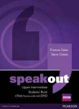 Omslag - Speakout Upper Intermediate Students' Book eText Access Card with DVD