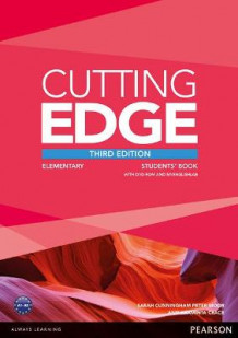 Cutting Edge Elementary Students' Book with DVD and MyEnglishLab Pack av Peter Moor, Araminta Crace og Sarah Cunningham (Blandet mediaprodukt)