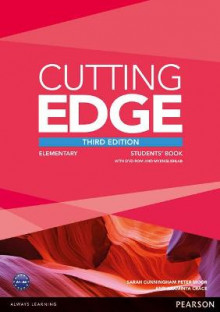 Cutting Edge 3rd Edition Elementary Students' Book with DVD and MyEnglishLab Pack av Araminta Crace, Sarah Cunningham og Peter Moor (Blandet mediaprodukt)