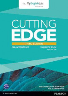 Cutting Edge Pre-Intermediate Students' Book with DVD and MyEnglishLab Pack av Peter Moor, Araminta Crace og Sarah Cunningham (Blandet mediaprodukt)