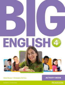 Big English 4 Activity Book av Mario Herrera og Christopher Sol Cruz (Heftet)