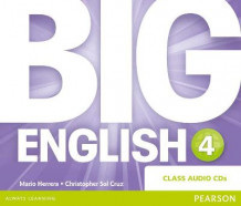 Big English Class CD: 4 av Mario Herrera og Christopher Sol Cruz (Lydbok-CD)