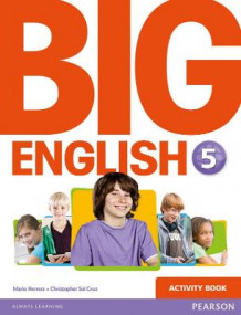 Big English 5 Activity Book av Mario Herrera og Christopher Sol Cruz (Heftet)