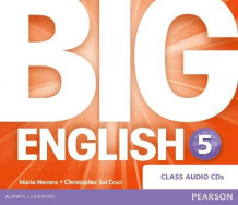 Big English 5 Class CD av Mario Herrera og Christopher Sol Cruz (Lydbok-CD)