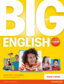 Big English Starter Pupils Book av Lisa Broomhead, Linnette Erocak, Mario Herrera og Christopher Sol Cruz (Heftet)