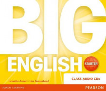 Big English Starter Class CD av Lisa Broomhead, Linnette Erocak, Mario Herrera og Christopher Sol Cruz (Lydbok-CD)