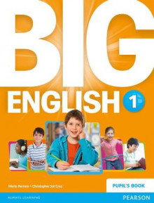 Big English 1 Pupils Book stand alone av Mario Herrera og Christopher Sol Cruz (Heftet)