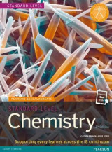 Omslag - Pearson Baccalaureate Chemistry Standard Level 2nd edition print and ebook bundle for the IB Diploma