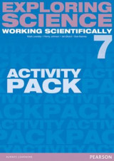 Omslag - Exploring Science: Working Scientifically Activity Pack Year 7