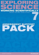Omslag - Exploring Science: Working Scientifically Assessment Support Pack Year 7