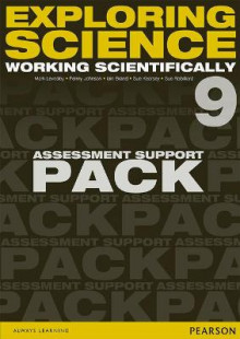 Exploring Science: Working Scientifically Assessment Support Pack Year 9 av P. Johnson, Iain Brand, Susan Kearsey, Sue Robilliard og Mark Levesley (Perm)