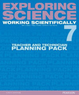 Omslag - Exploring Science: Working Scientifically Teacher & Technician Planning Pack Year 7