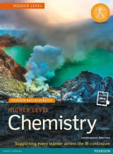 Omslag - Pearson Baccalaureate Chemistry Higher Level 2nd edition print and online edition for the IB Diploma