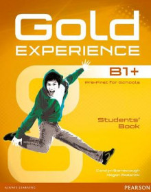 Gold Experience B1+ Students' Book av Carolyn Barraclough og Megan Roderick (Blandet mediaprodukt)