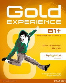 Gold Experience B1+ Students' Book with DVD-ROM and MyLab Pack av Carolyn Barraclough og Megan Roderick (Blandet mediaprodukt)