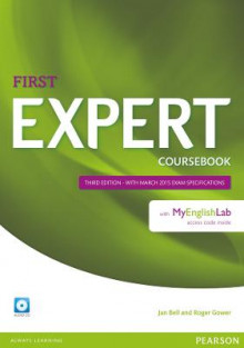 Expert First Coursebook with Audio CD and MyEnglishLab Pack av Jan Bell og Roger Gower (Blandet mediaprodukt)