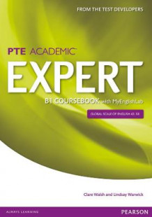 Expert Pearson Test of English Academic B1 Coursebook and MyEnglishLab Pack av Clare Walsh og Lindsay Warwick (Blandet mediaprodukt)