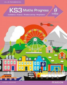 KS3 Maths Progress Student Book Theta 3 (Heftet)