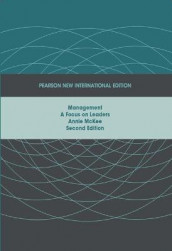 Management:A Focus on Leaders Pearson New International Edition, plus MyManagementLab without eText av Annie McKee (Blandet mediaprodukt)