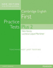 Cambridge First Practice Tests Plus New Edition Students' Book with Key av Nick Kenny og Lucrecia Luque-Mortimer (Blandet mediaprodukt)