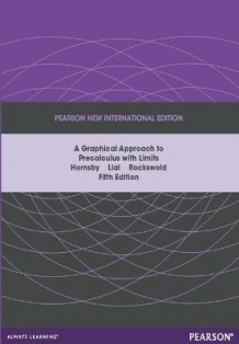 Graphical Approach to Precalculus with Limits Pearson New International Edition, plus MyMathLab without eText av John Hornsby, Margaret L. Lial og Gary K. Rockswold (Blandet mediaprodukt)