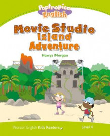 Level 4: Poptropica English Movie Studio Island Adventure av Hawys Morgan (Heftet)