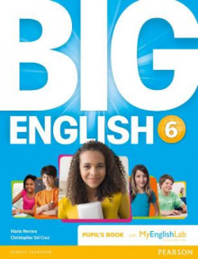 Big English 6 Pupil's Book and MyLab Pack av Mario Herrera og Christopher Sol Cruz (Blandet mediaprodukt)