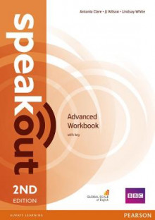 Speakout Advanced 2nd Edition Workbook with Key av Antonia Clare, J. J. Wilson og Damian Williams (Heftet)