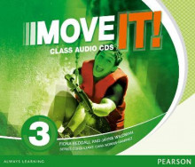 Move It! 3 Class CDs av Jayne Wildman og Fiona Beddall (Lydbok-CD)