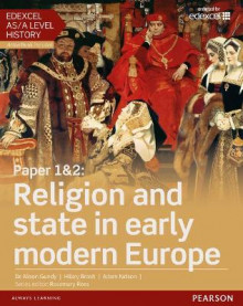 Edexcel AS/A Level History, Paper 1&2: Religion and state in early modern Europe Student Book + ActiveBook av Alison Gundy, Hilary Brash og Adam Kidson (Blandet mediaprodukt)