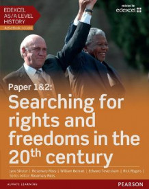 Edexcel AS/A Level History, Paper 1&2: Searching for Rights and Freedoms in the 20th Century Student Book + ActiveBook av Rosemary Rees, Jane Shuter og William Beinart (Blandet mediaprodukt)