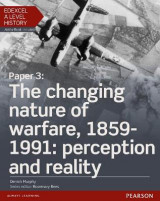 Omslag - Edexcel A Level History, Paper 3: The Changing Nature of Warfare, 1859-1991: Perception and Reality: Student Book + ActiveBook