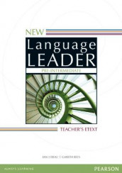 New Language Leader Pre-Intermediate Teacher's eText DVD-ROM av Chris Sowton (DVD-ROM)