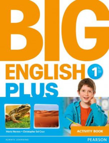 Big English Plus 1 Activity Book av Mario Herrera og Christopher Sol Cruz (Heftet)