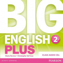 Big English Plus 2 Class av Mario Herrera og Christopher Sol Cruz (Lydbok-CD)