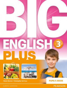 Big English Plus 3 Pupil's Book: 3 av Sandy Zervas, Erika Stiles, Niki Joseph, Christopher Sol Cruz og Mario Herrera (Heftet)