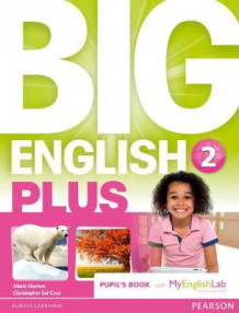 Big English Plus 2 Pupils' Book with Myenglishlab Access Code Pack av Fiona Beddall, Katie Foufouti, Christopher Sol Cruz og Mario Herrera (Blandet mediaprodukt)